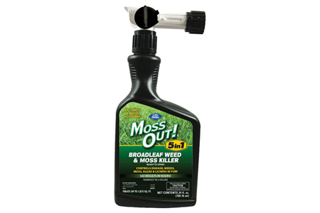 Moss Out! 5-in-1 Broadleaf Weed Moss Killer 24 fl oz Ready-to-Spray