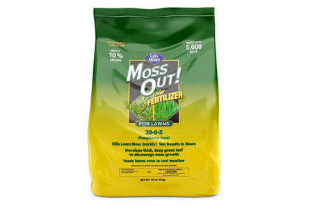 Moss Out! for Lawns Granules 20-0-5 20 lb bag