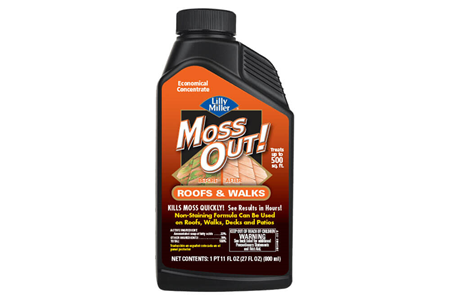 Moss Out! for Roofs and Walks Concentrate 27 fl oz bottle